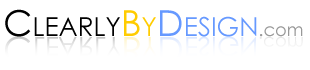 ClearlyByDesign.com logo